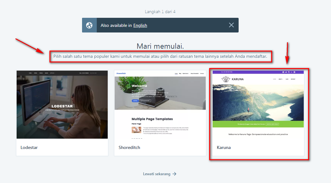 Memilih Theme Wordpress Gratisan