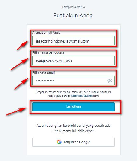 Menentukan Akun atau Akses Login Pada WordPress