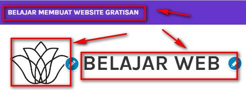 Tampilan Logo Berubah